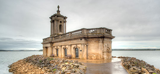 Normanton Church - Rutland wedding venue