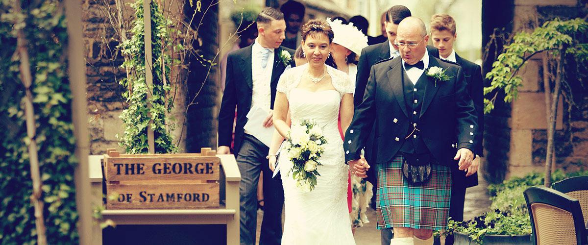 Stamford Wedding Photographer - George Hotel