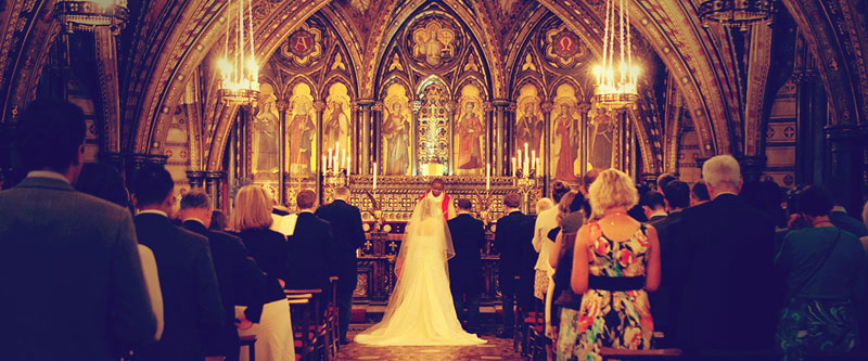 nene digital weddings - chapel in Westminster London