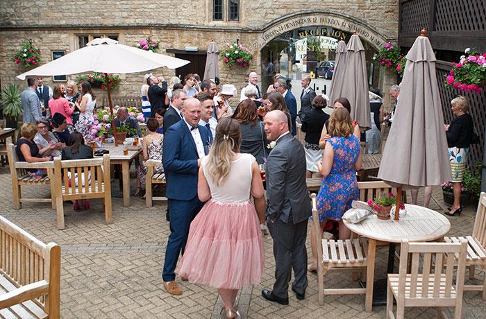 Wedding Photographer - Bell @ Stilton - Courtyard