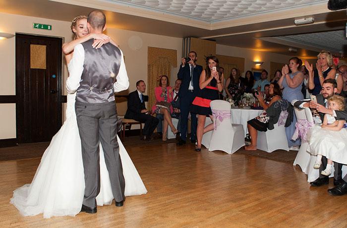 Wedding Photographer - Bell @ Stilton - First Dance