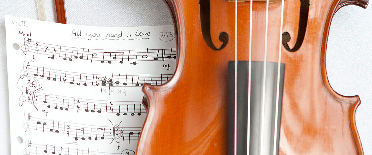 Wedding Photography Packages - Music Songsheet