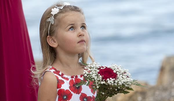 nene digital weddings - nene digital wedding photography - flower girl