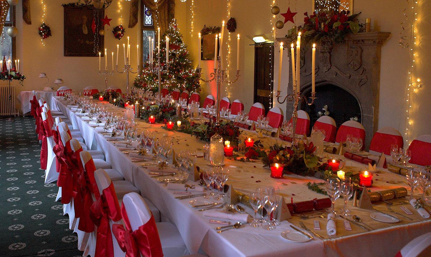 Orton Hall Wedding Photographer - Christmas